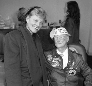 Carol Hafner Congress WW2 Veteran